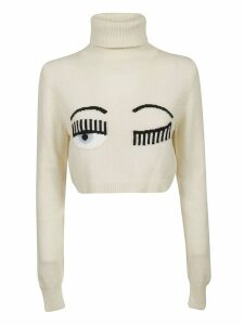 Chiara Ferragni Cropped Sweater