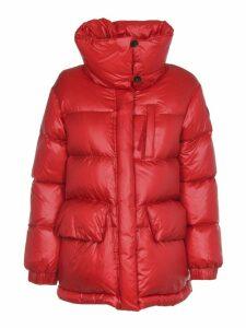 Woolrich Ws Alquippa Puffy Red Jacket