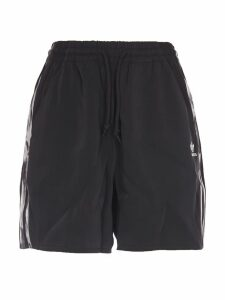 Adidas Originals Adidas Womens Black Shorts In Collaboration With Danielle Cathari