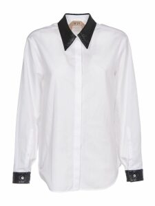 N.21 White And Black Shirt