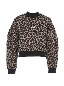 MSGM Leopard Print Jumper