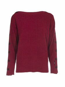 Calvin Klein Bordeaux Wool Sweater
