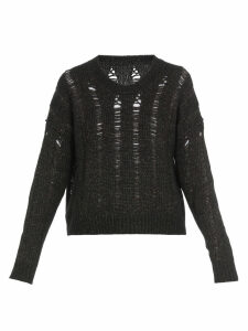 Uma Wang Cotton And Wool Sweater