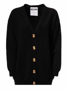 Moschino Decorative Button Cardigan