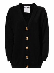 Moschino Decorative Button Cardigan