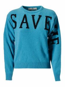 Alberta Ferretti Intarsia Sweater
