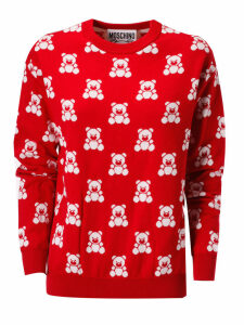 Moschino Bear Print Sweatshirt