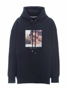 Stella Mccartney Oversized Kittens-print Hoodie