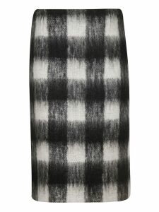 Maison Margiela Checked Skirt