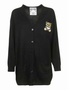 Moschino Logo Patch Cardigan