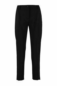 Dolce & Gabbana Stretch Wool Tailored Trousers