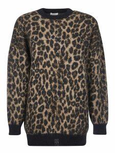 Celine Animal Print Sweater