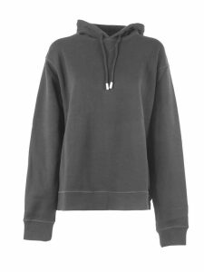 Dsquared2 Black Cotton Hoodie