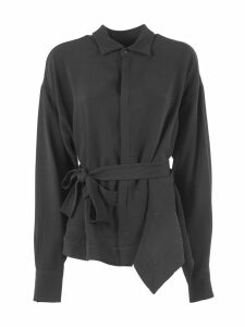 Dsquared2 Black Belted Shirt
