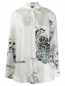 Ermanno Scervino L/s Printed Shirt