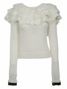 Philosophy di Lorenzo Serafini Ruffled Sweater