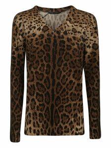 Dolce & Gabbana Leopard Sweatshirt