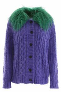 Prada Cardigan With Fur