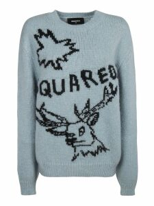 DSquared2 Embroidered Logo Jumper