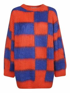 MSGM Checked Sweater
