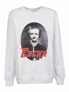 MSGM Edgar Allan Poe Print Sweatshirt