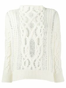 Ermanno Scervino High Neck Sweater