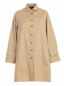 Jejia Trench Shirt Over Cotton