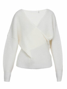 Victoria Victoria Beckham Draped Sweater