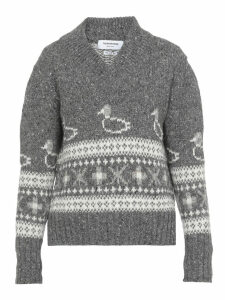 Thom Browne Sweater With Emborideries