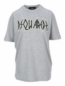 D Squared Rock Logo Printed T-shirt