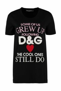 Dolce & Gabbana Crew-neck Cotton T-shirt