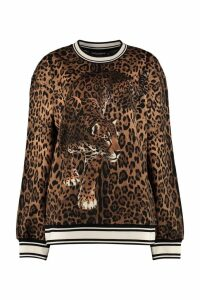 Dolce & Gabbana Printed Crew-neck Sweatshirt