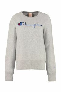 Champion Logo Detail Cotton Sweatshirt