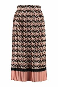 Elisabetta Franchi Celyn B. Printed Pleated Skirt