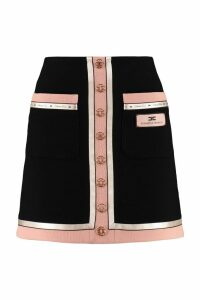 Elisabetta Franchi Celyn B. Crepe Mini Skirt