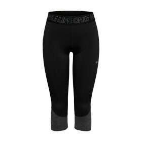 Jacey 3/4 Sports Leggings in Breathable Fabric