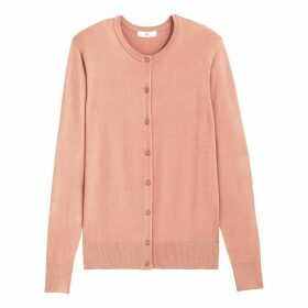 Basic Buttoned Cardigan