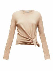 Altuzarra - Nalini Knotted Cashmere Sweater - Womens - Camel