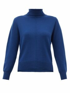 Sea - Nora Roll Neck Wool Sweater - Womens - Blue