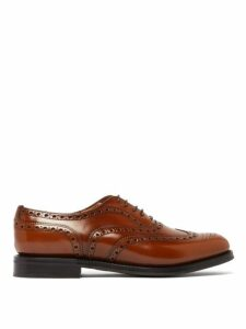 Church's - Burwood Antiqued Leather Oxford Shoes - Womens - Tan