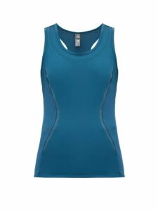 Adidas By Stella Mccartney - Performance Essentials Tank Top - Womens - Blue