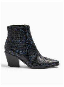Womens Bewitch Navy Western Boots, NAVY