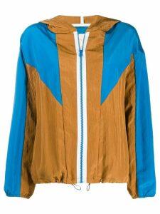 Tela hooded sports jacket - Brown