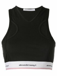 T By Alexander Wang classic sports top - 001 BLACK