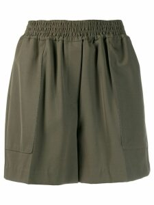 Brunello Cucinelli boxy shorts - Green