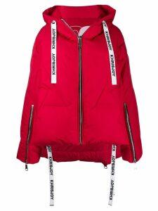 Khrisjoy hooded puffer jacket - Red