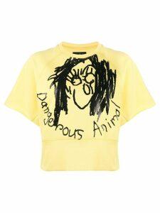 Vivienne Westwood Anglomania printed 'Dangerous Animal' T-shirt -