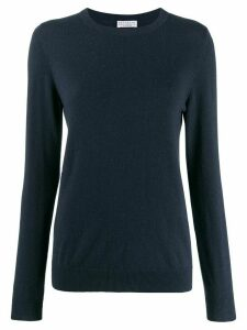 Brunello Cucinelli crew neck sweater - Blue