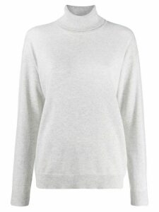 Brunello Cucinelli turtleneck sweater - Grey