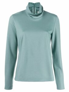 Forte Forte turtleneck top - Blue